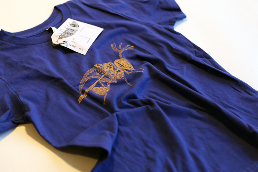 Kids - Lapis blue with golden Wasp - 6yrs (TS021)