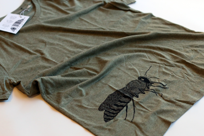 Men - Heather khaki with black Sand wasp - M (TS075)