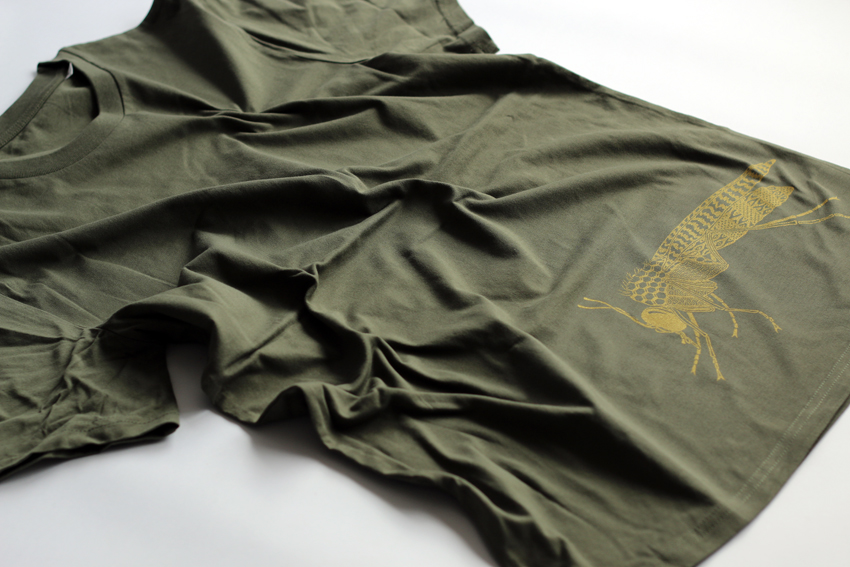 Men - Khaki with golden Midge - L (TS031)