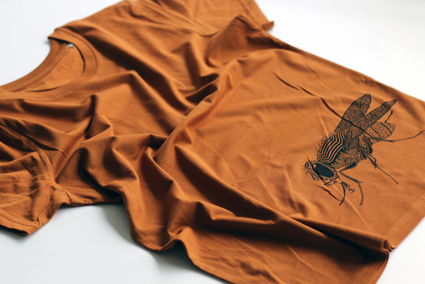 Men - Roasted orange with black Fly - S (TS029)
