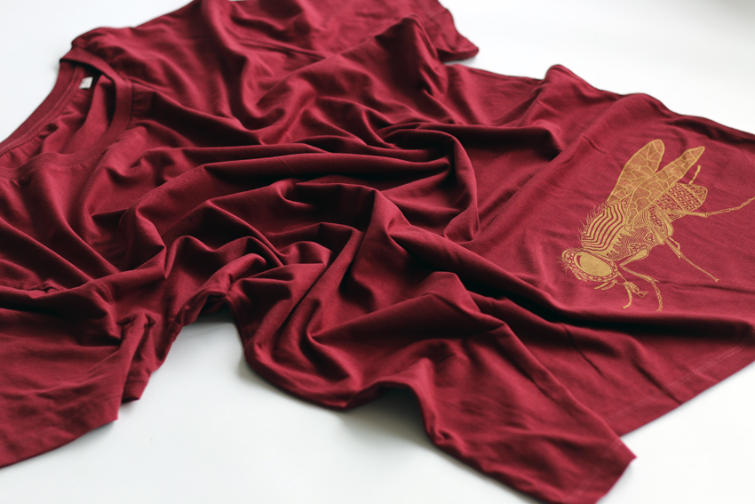 Men - Burgundy with golden Fly - XXL (SWA094)